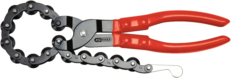 KS Tools 150.1500 Auspuff-Kettenrohrabschneider, Ø 19-83mm B001NYT95O   Die erste Reihe von umfassenden Spezifikationen für Kunden