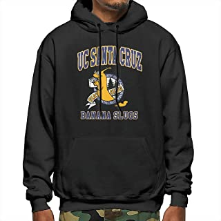Muindancer UC Santa Cruz Banana Slugs Men's Graphic Hoodies Unisex Hooded Sweatshirt