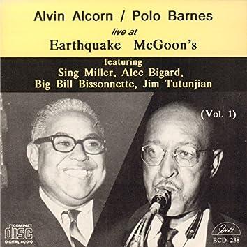 Live at Earthquake Mcgoon's, Vol. 1