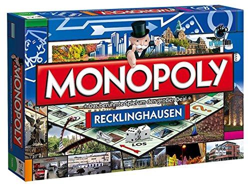 Winning Moves 44550–Monopoly Recklinghausen Gioco