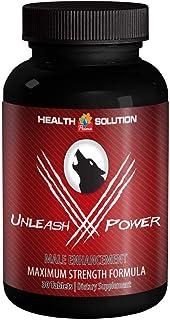 Unleash V Power. Male Enhancement Formula. Size Up, Maximum Straight. Dietary Supplement (Tongkat Ali, Mucuna Prurients, G...