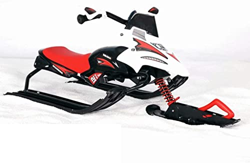 YZ-Sled Stahlrahmenkonstruktion des Pferdeschlittenkinderschneemobils mit Bremsschlitten-Skischlitten des Bremseisautos erwachsenem