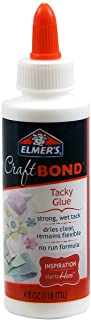 Elmer`s Craft Bond Tacky Glue, 4 oz, Clear