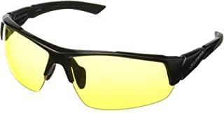 RYDERS Unisex-Adult Strider R02102D Wrap Sunglasses, BLACK, 63 mm