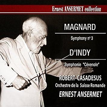 Ernest Ansermet Collection, Vol. 5: Magnard's Symphony No. 3 and d'Indy's Cévenole Symphony
