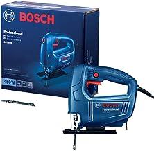 Serra Tico-Tico Bosch GST 650 450W 127V, com 1 Lâmina