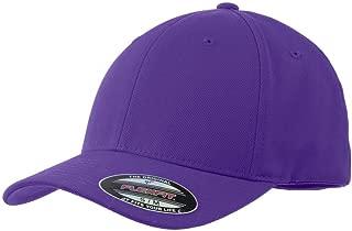 Sport-Tek Flexfit Performance Solid Cap> Purple STC17