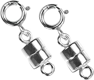 Best magnetic jewelry clasp converters silver Reviews