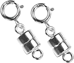 uGems 2 Sterling Silver Converters Magnetic Clasps