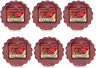 Yankee Candle Lot of 6 Black Cherry Tarts Wax Melts