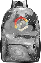 Gift for Music Producer Galaxy Universe Space Galaxy School Backpack Schoolbag A Large Capacity of 20-35 L Bag