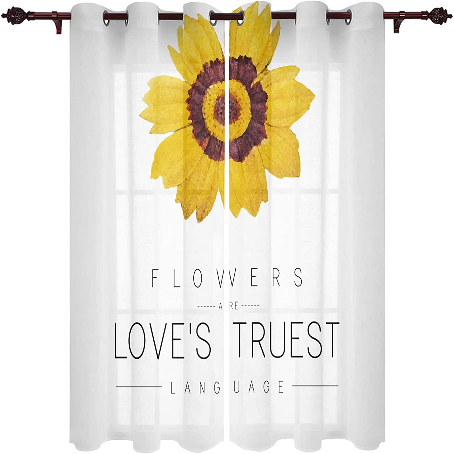 Window Curtain Max 58% OFF Panels Set free shipping of 2 for Drapes Grommet Livi Curtains