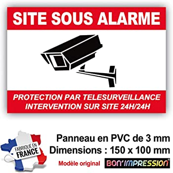 Protection Anti-UV Adh/ésif Propri/ét/é Sous Vid/éo Surveillance 24H//24H Dimensions 105 x 75 mm
