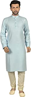 Tathastu Mens Cotton Kurta Pyjama Set