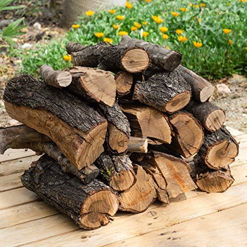 19 kg leña para chimenea variada, alto poder calorífico.