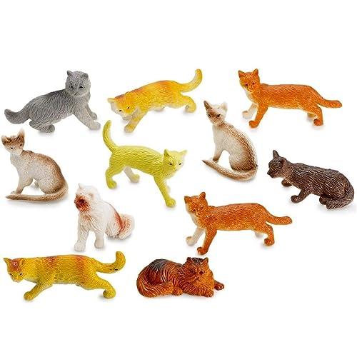 Mini Cat Figurines
