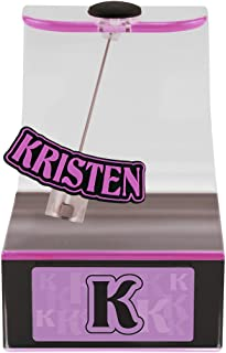 The Swing Thing Hannah Solar Powered Personalized Dancing Desk Accessory with Swinging Name