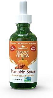 SweetLeaf Sweet Drops Liquid Stevia Sweetener, Pumpkin Spice, 2 Fl Oz, Scented