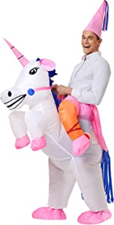 Unicorn Costume Inflatable Suit Halloween Cosplay Fantasy Costumes