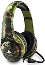 4GAMERS PRO4-70 Camo Stereo Gaming Headset, Woodland (PS4)