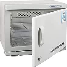 "ForPro Premium Hot Towel Warmer, UV Sterilization, 24 Towel Capacity, Rust Resistant Towel Heater, 17.75"" W x 11"" D x 14"" H"
