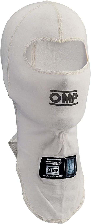 OMP IAA/758020 Unisex-Adult TECNICA BALACLAVA (White, LXL)