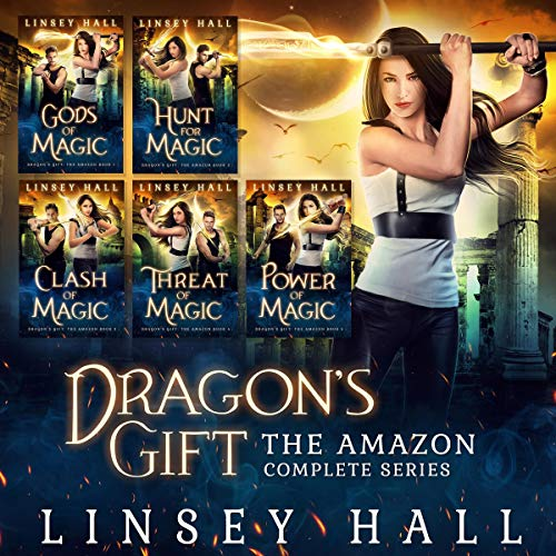 Dragon's Gift: The Amazon Complete Series cover art