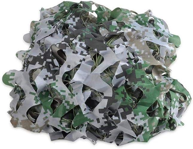 JJWZW Filet de Camouflage Oxford Filet de Camouflage de Tissu d'Oxford, Tente de Camping cachée de tir pour des activités de Plein air pour Les Jardins d'ombre extérieurs (Taille   6.8  6.8m)