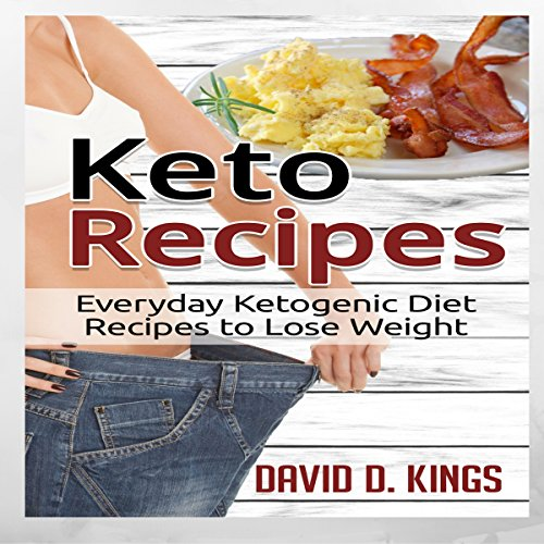 Keto Recipes audiobook cover art