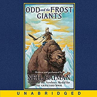 Odd and the Frost Giants audiobook cover art