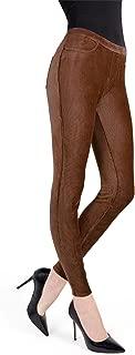 Thin-Rib Stretch Corduroy Leggings | Women's Premium Leggings