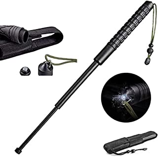 Outdoor Collapsible Defense Rod for Self Trekking Tool ,Easy to Carry Use for Women Police