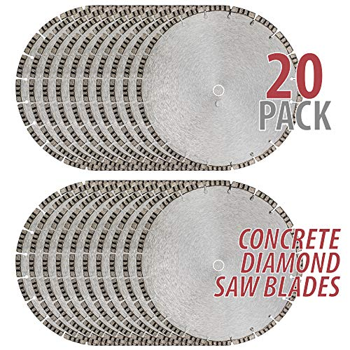Affordable 14 Sintered TURBO STYLE 10mm Wet/Dry General Purpose Concrete Diamond Saw Blade 1 - 20m...