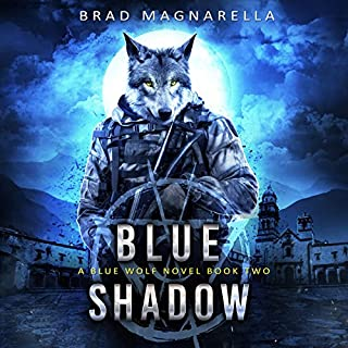 Blue Shadow audiobook cover art
