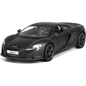 McLaren 650S Super Car Special Edition Matt Black 1:36 Scale Die-cast Model NEW
