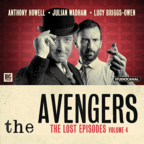 『The Avengers - The Lost Episodes, Volume 04』のカバーアート