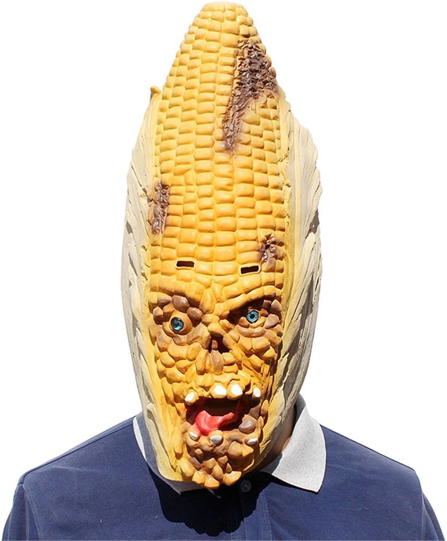 Yxsd Halloween bar party show cosplay corn latex mask