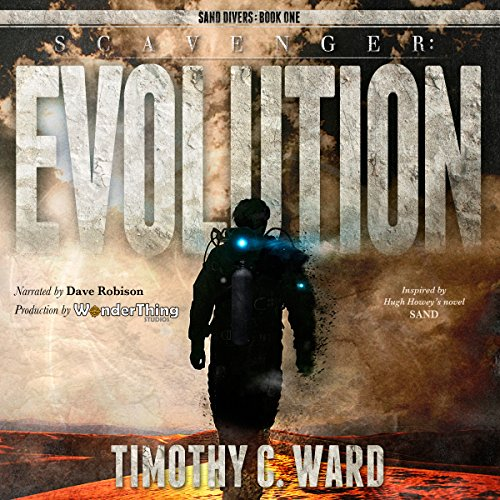 Scavenger: Evolution audiobook cover art