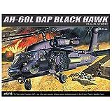 Academy Models 12115 AH - 60L DAP Schwarz HAWK Hubschrauber Plastik Modellbausatz -