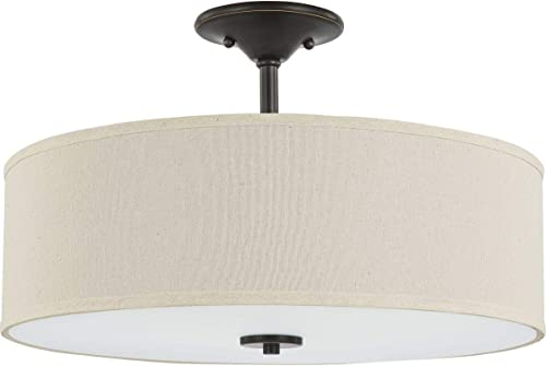 popular Progress Lighting P350168-020 Inspire Close-to-Ceiling, sale new arrival Bronze outlet online sale