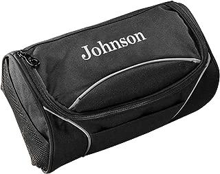 monogrammed travel bag