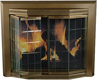 Pleasant Hearth Grandior Bay Firescreen Oil Rubbed Bronze - Large