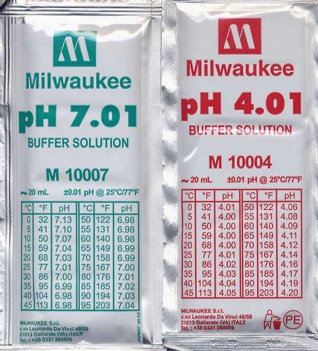 Kalibrierkit pH 5 x 4,01 und 5 x 7,01 20 ml Beutel [Misc.]
