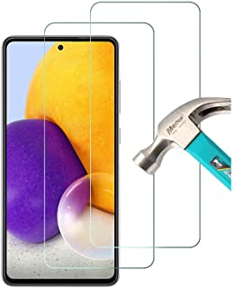 """AFGLOOY 2 Pack, Compatible with Samsung Galaxy A72 (6.7"""") Screen Protector, Tempered Glass for Galaxy A72, 9H Scratch Resi..."""