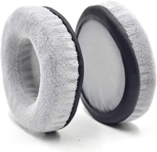 Defean 60~120mm Exquisite Velour Soft Foam Earpads - Suitable for Many Other Large Over The Ear Headphones (Gray_60mm)