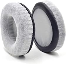 Defean 60~120mm Exquisite Velour Soft Foam Earpads - Suitable for Many Other Large Over The Ear Headphones (Gray_90mm)