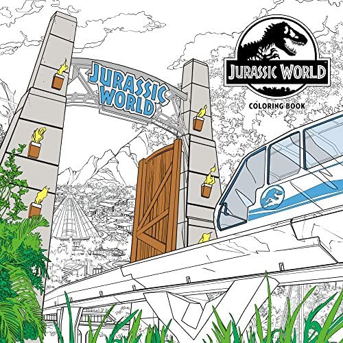 Jurassic World Adult Coloring Book product image