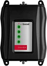 weBoost Drive 4G-X Cell Phone Signal Booster for Car, Truck, and RV Use – Enhance Your Signal up to 32x. Can Cover up to 4 Devices (Renewed) - 1 Year Manufacturer Warranty