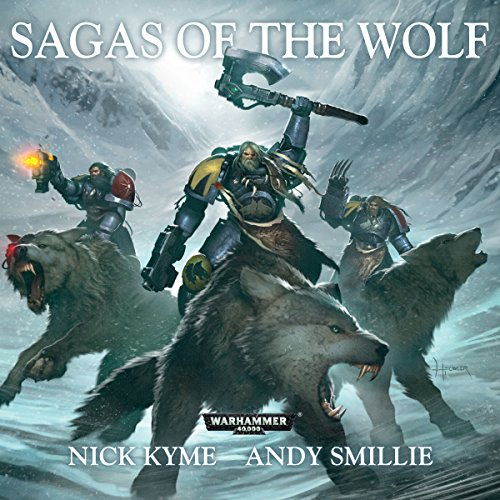 Sagas of the Wolf audiobook cover art