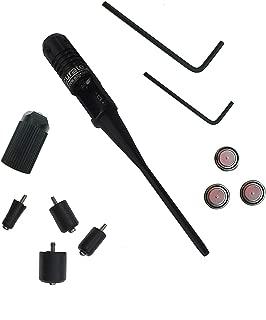 Shooney's BoreSighter Bore Sight kit for 0.22 to 0.50 Caliber Rifles Handgun Red Laser